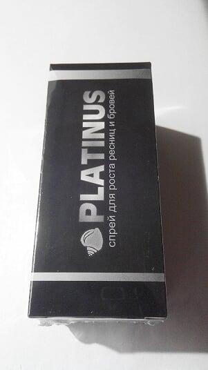 Спрей Platinus Lashes - для роста ресниц и бровей ViP