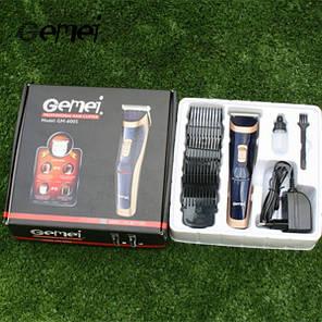 Универсальная Машинка для стрижки волос Триммер 2 в 1 Gemei GM-6005, фото 2