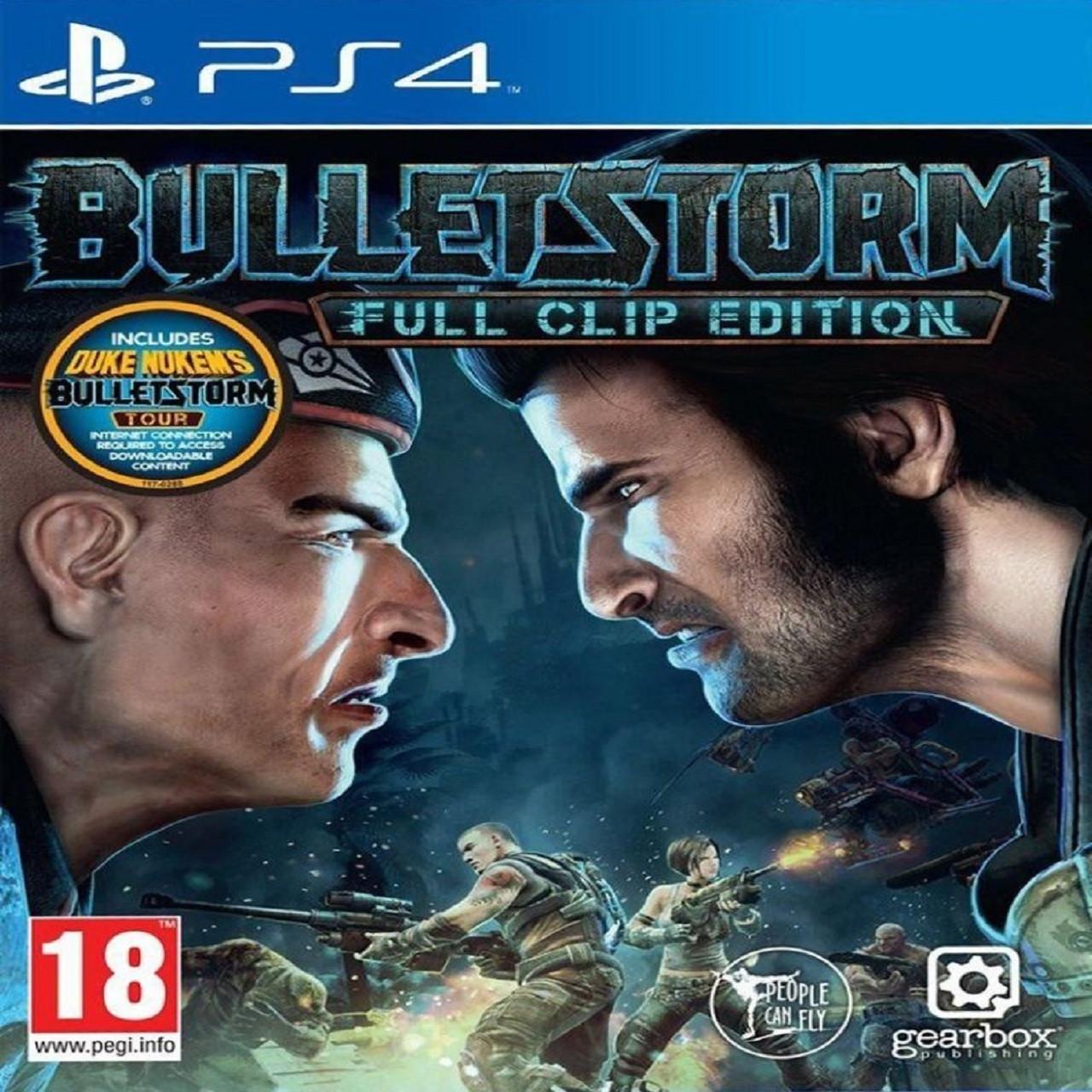 Bulletstorm Full Clip Edition RUS PS4  (NEW)
