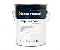 Краска для дерева Bionic-House Aqua Color UV-protect 10л Белый А101