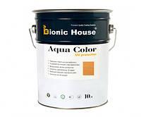 Краска для дерева Bionic-House Aqua Color UV-protect 10л Дуб А105