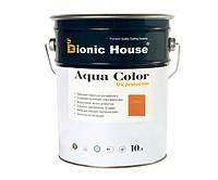 Краска для дерева Bionic-House Aqua Color UV-protect 10л Миндаль А112