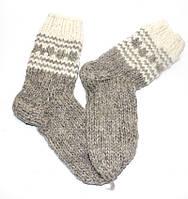 Носки из овечьей шерсти ручной вязки НО1