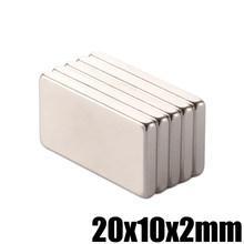 Неодимовый магнит 20 * 10 * 2 мм
