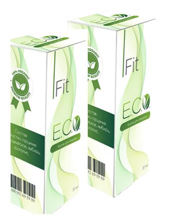 Eco Fit - капли для похудения (Эко Фит) ViP