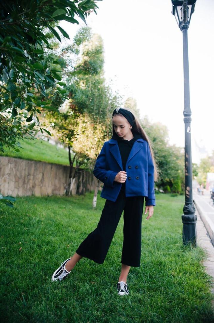 Пальто-пиджак LiLove 460-1 146 синий