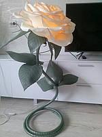 Ростовые цветы из изолона, светильник ростовой