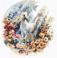 LETI 903 Unicorn. Набор для вышивания нитками