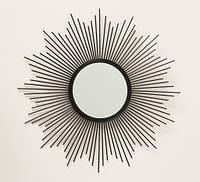 Настенное зеркало солнце Бруклин d50см металл 1017241, фото 1