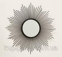 Настенное зеркало Бруклин d50см металл 1017241