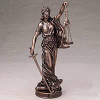 Статуэтка Фемиды от Veronese (италия), полистоун 26 см
