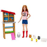 Кукла Barbie, серия Профессии - Фермер (игровой набор)
