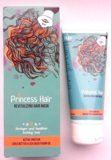Princess Hair - маска для волос от седены и выпадения ViP