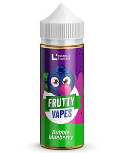 Frutty Vapes 120 мл Премиум Жидкость для Электронных Сигарет Bubble Blueberry, 3 мг