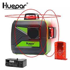 Лазерный уровень Huepar 3D Red HP-603CR 12 линий ➜ Красные лучи ➜ ОРИГИНАЛ ➜ ГАРАНТИЯ: 1 год