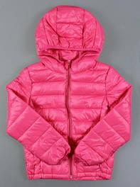 Курточки, ветровки и жилетки для девочек
