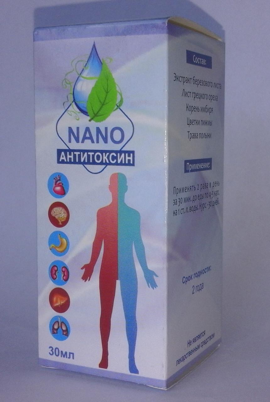 Капли от паразитов Anti Toxin nano (Антитоксин Нано) ViP