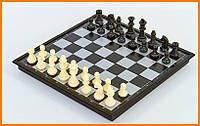 Шахматы шашки нарды магнитные пластиковые 3в1