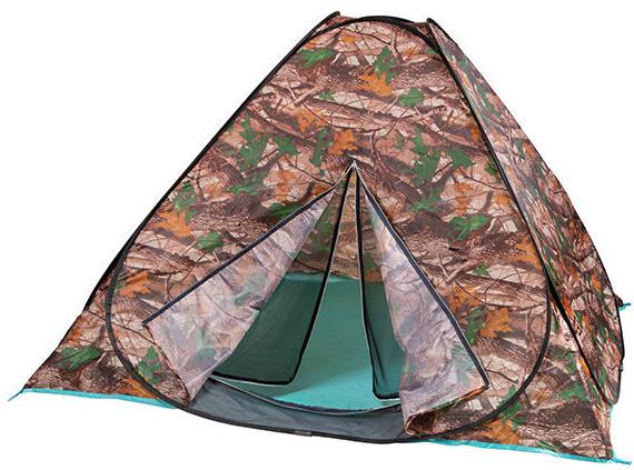 Палатка-автомат камуфляж восьмерка