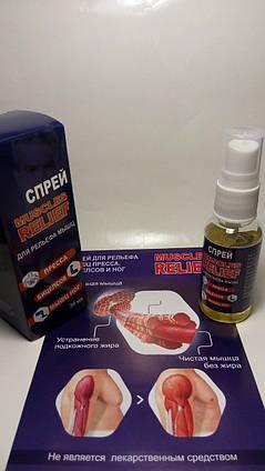 Спрей для рельефа мышц Muscles Relief ViP