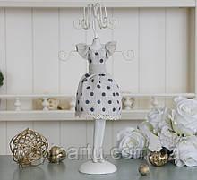 Подставка для украшений платье в горошек Гранд Презент GM09-J9021C