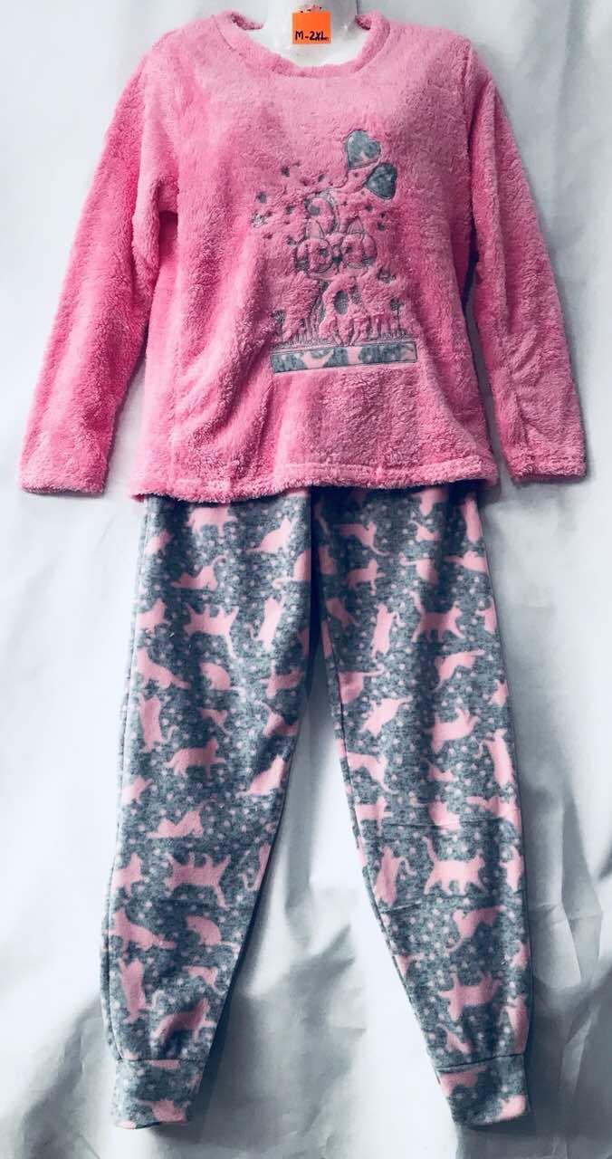 Пижама женская махровая размер М-2XL (от 4 шт)