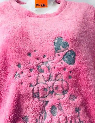 Пижама женская махровая размер М-2XL (от 4 шт), фото 2