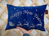 Подушка с оленями, фото 4