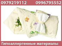 """Конверт для ребенка на выписку из роддома для новорожденных детей """"Кантик"""""""