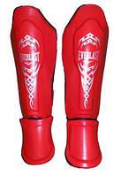 Защита для ног MMA кожа голень стопа Everlast