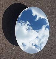 Зеркало овальное для ванной комнаты 60х45 см