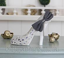 Подставка туфелька с бантом Гранд Презент GM09-J9018B