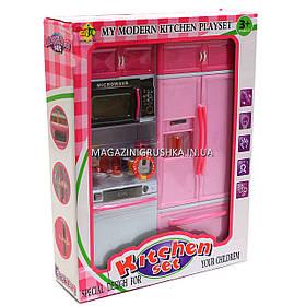 Кухня детская для кукол «Kitchen set» (свет, звук) 24х7х32 см (6610-9)