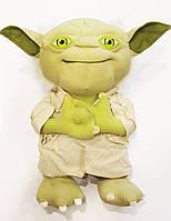 Мягкая игрушка Мастер Йода Star Wars Звездные войны 35 см