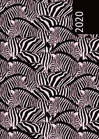 Ежедневник датированный в линию Buromax 2020 Wild, 336 страниц, A5 чёрный
