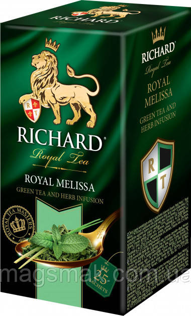 Чай Richard Royal Melissa пакетированный, 25х2г