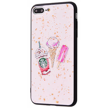 "TPU чехол Confetti Fashion для Apple iPhone 7 plus / 8 plus (5.5"")"