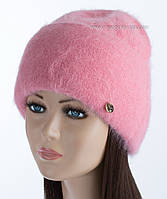 Женская зимняя шапочка Vanila цвет персик