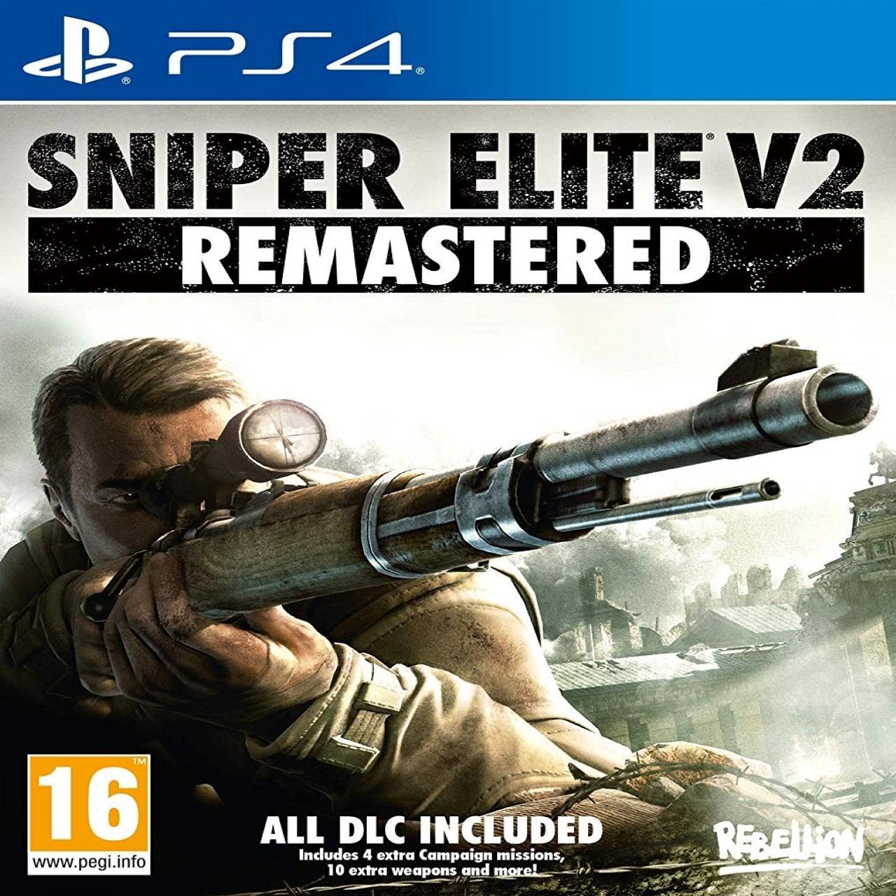 Sniper Elite V2 Remastered (російські субтитри) PS4