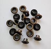 Блочка №4 - 6 мм (с шайбой) нержавейка антик