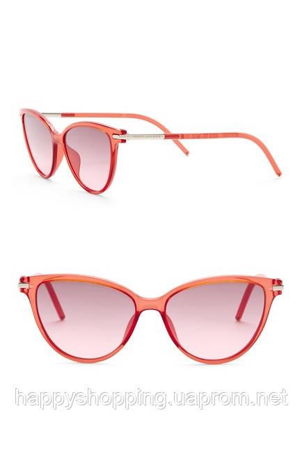 Женские коралловые солнцезащитные очки Marc Jacobs