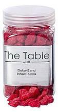 Декоративные камни красные h10см 500г Гранд Презент 8290900