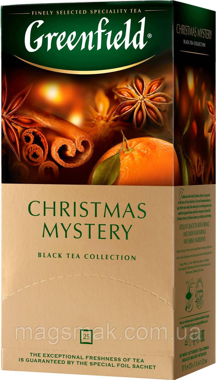 Чай Greenfield Christmas Mystery, 25 пакетов