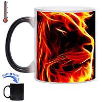 Чашка хамелеон Огненный царь 330 мл, фото 1