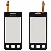 Touchscreen (сенсорный экран) для Samsung Star 2 Duos C6712, черный, оригинал