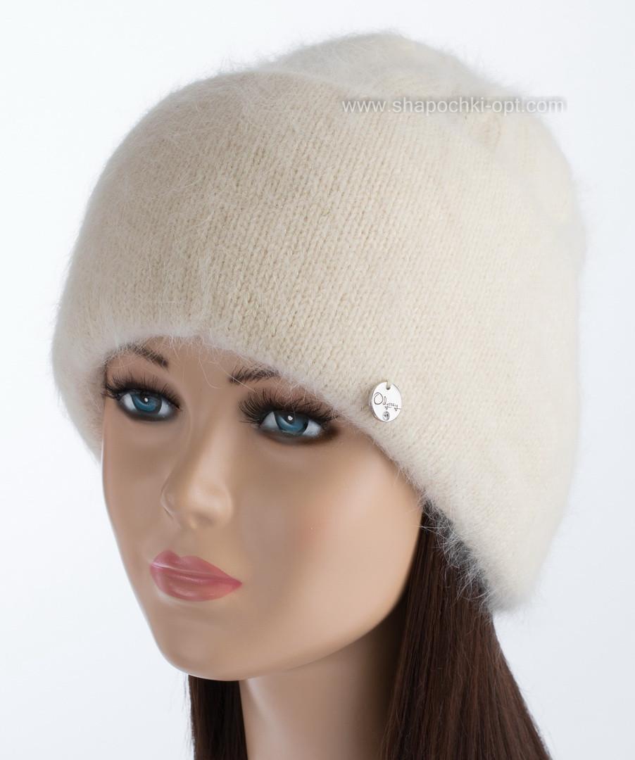 Зимняя женская шапочка Vanila цвет пастель