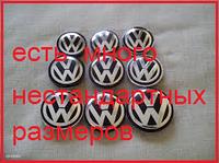 Колпачки на диски Volkswagen  от 40 до 80мм  vw