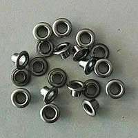 Блочка №3 - 5 мм (с шайбой) нержавейка черный никель