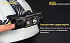 Фонарь налобный Nitecore HC65 1000LM (ультро яркий), фото 9
