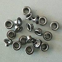 Блочка №4 - 6 мм (з шайбою) нержавійка чорний нікель